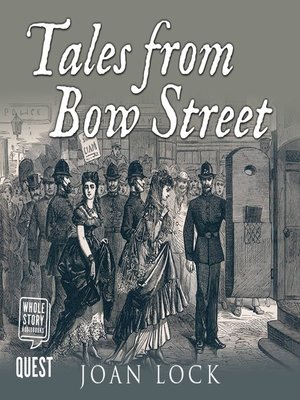 cover image of Tales From Bow Street