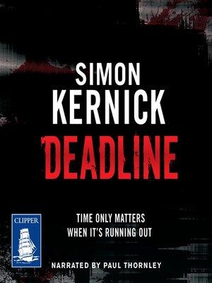 cover image of Deadline
