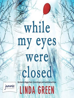cover image of While My Eyes Were Closed