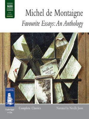 cover image of Favourite Essays--An Anthology