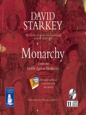 cover image of Monarchy--From the Middle Ages to Modernity