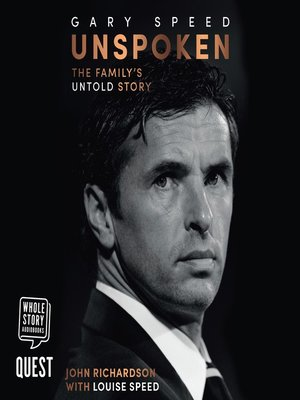 cover image of Gary Speed: Unspoken