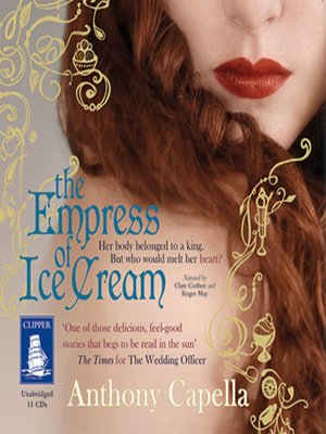 cover image of The Empress of Ice Cream
