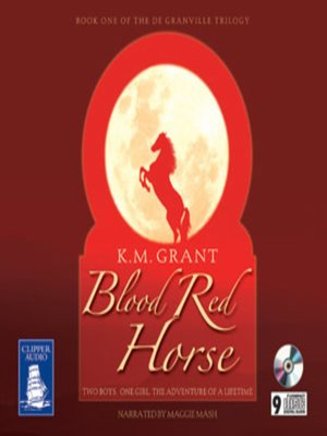 cover image of Blood Red Horse