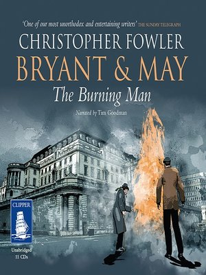 cover image of Bryant & May--The Burning Man