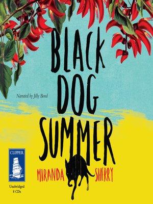 cover image of Black Dog Summer