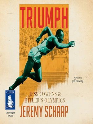 cover image of Triumph--Jesse Owens and Hitler's Olympics