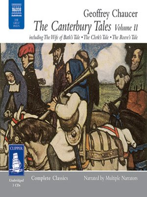 cover image of The Canterbury Tales II