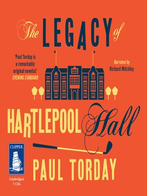 cover image of The Legacy of Hartlepool Hall