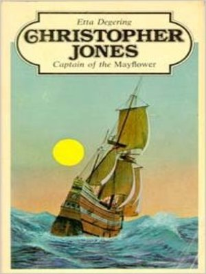cover image of Christopher Jones, Captain of the Mayflower