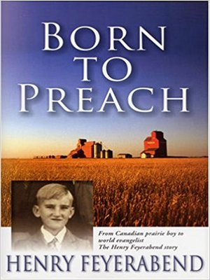 cover image of Born to Preach