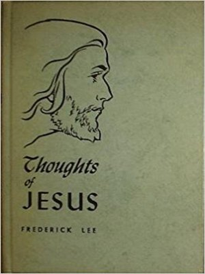 cover image of Thoughts of Jesus