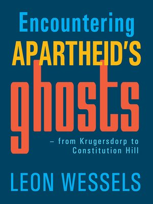 cover image of Encountering Apartheid's Ghosts