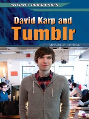 cover image of David Karp and Tumblr