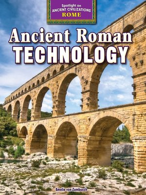 cover image of Ancient Roman Technology