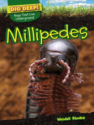 cover image of Millipedes