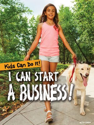 cover image of I Can Start a Business!
