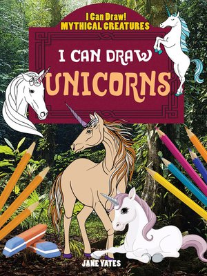 cover image of I Can Draw Unicorns
