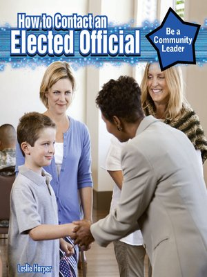 cover image of How to Contact an Elected Official