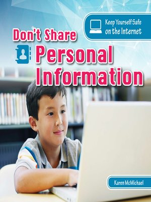 cover image of Don't Share Personal Information
