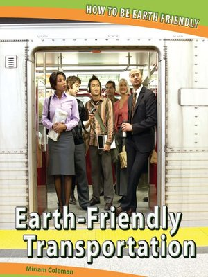 cover image of Earth-Friendly Transportation