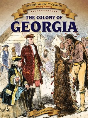 cover image of The Colony of Georgia