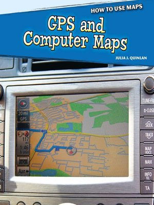 cover image of GPS and Computer Maps
