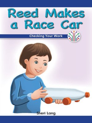 cover image of Reed Makes a Race Car