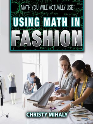 cover image of Using Math in Fashion
