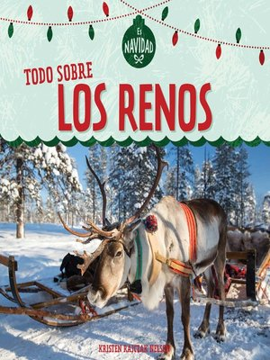 cover image of Todo sobre los renos (All About Reindeer)