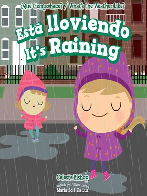 cover image of Está lloviendo / It's Raining