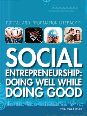 cover image of Social Entrepreneurship