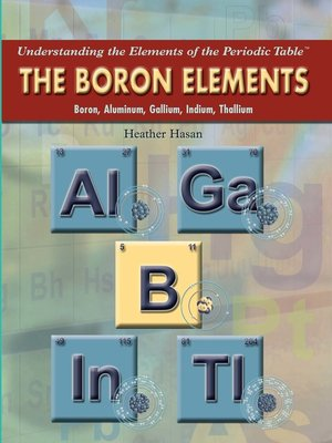 cover image of The Boron Elements
