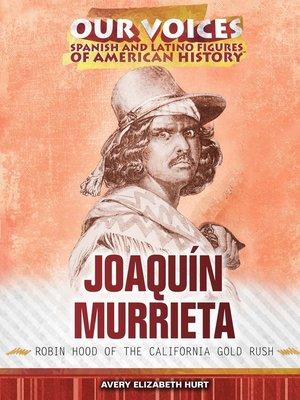 cover image of Joaquín Murrieta