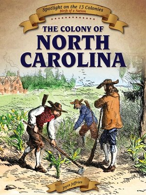 cover image of The Colony of North Carolina