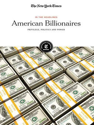 cover image of American Billionaires