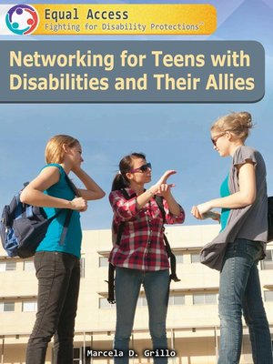 cover image of Networking for Teens with Disabilities and Their Allies