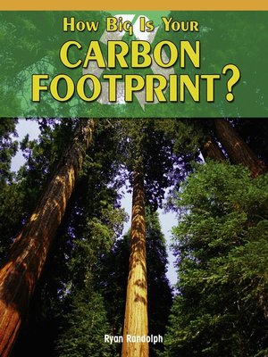 cover image of How Big Is Your Carbon Footprint?
