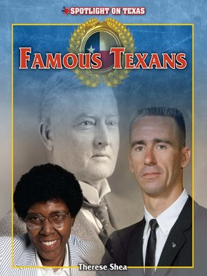 cover image of Famous Texans