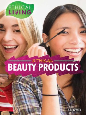 cover image of Ethical Beauty Products