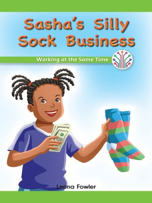 cover image of Sasha's Silly Sock Business