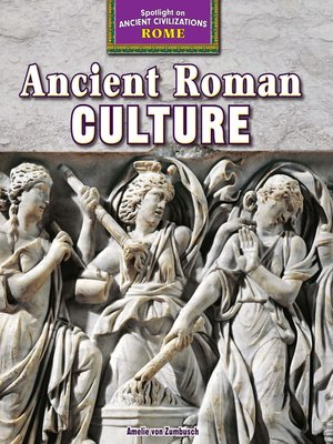 cover image of Ancient Roman Culture