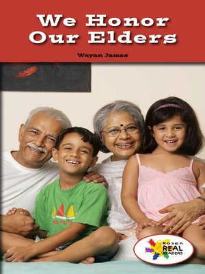 cover image of We Honor Our Elders