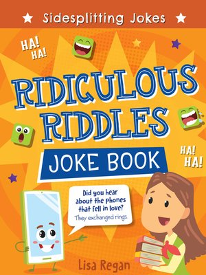 cover image of Ridiculous Riddles Joke Book