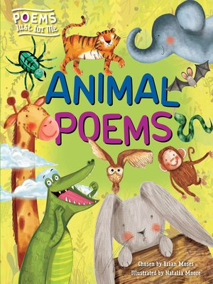 cover image of Animal Poems