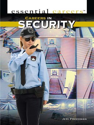cover image of Careers and Business in Security