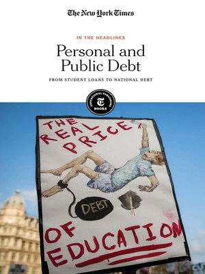 cover image of Personal and Public Debt