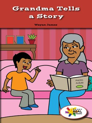cover image of Grandma Tells a Story