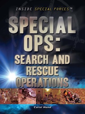 cover image of Special Ops: Search and Rescue Operations