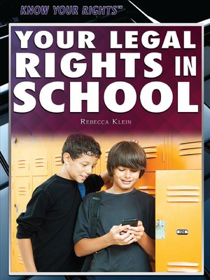 cover image of Your Legal Rights in School